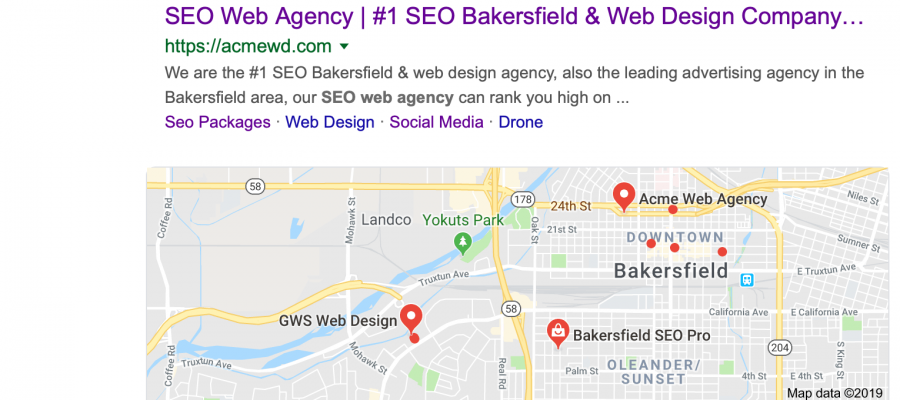 SEO For Small Business 2019, Small Business SEO 2019, #1 SEO Web Agency Bakersfield, Acme web agency